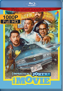 Impractical Jokers: La Película (2020) [1080p BRrip] [Latino-Inglés] [LaPipiotaHD]