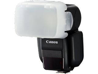 Canon Speedlite 430EX III-RT with Diffuser