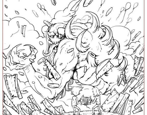 Троє проти Зла істота