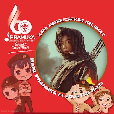 Twibbon Hari Pramuka 2021
