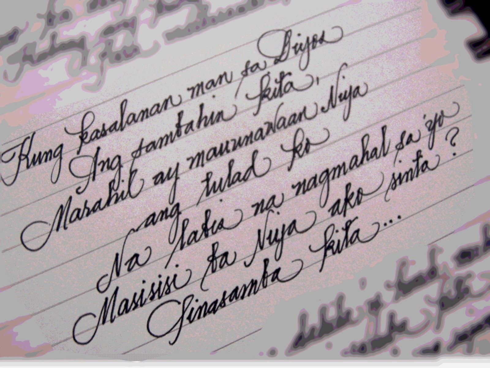 Dress Up Your Handwriting