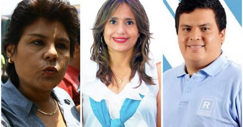 CONGRESO DE LA REPÚBLICA: Tres Parlamentarios renuncian a bancada de Renovación Popular