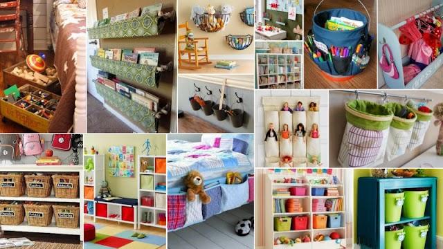 50+ Ιδέες Οργάνωσης-Τακτοποίησης για Παιδικά Δωμάτια