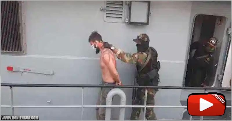Maduro mostró video y fotos de norteamericanos que han venido a matarlo
