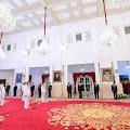 Presiden Lantik Tiga Pasang Gubernur dan Wagub Terpilih di Istana Negara