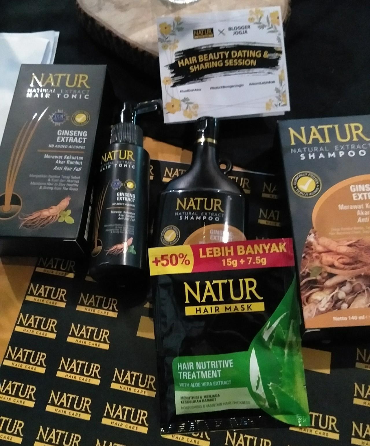 Natur Hair Mask Aloe Vera Nutrisi Untuk Kesuburan Rambut