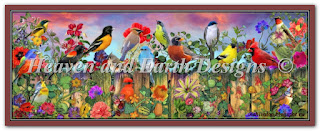 "HAED AISMC 49291 ""Birds And Blooms Garden Max Colors"""