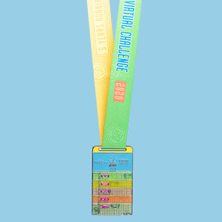RunDisney Virtual Series 2020 - Challenge médaille