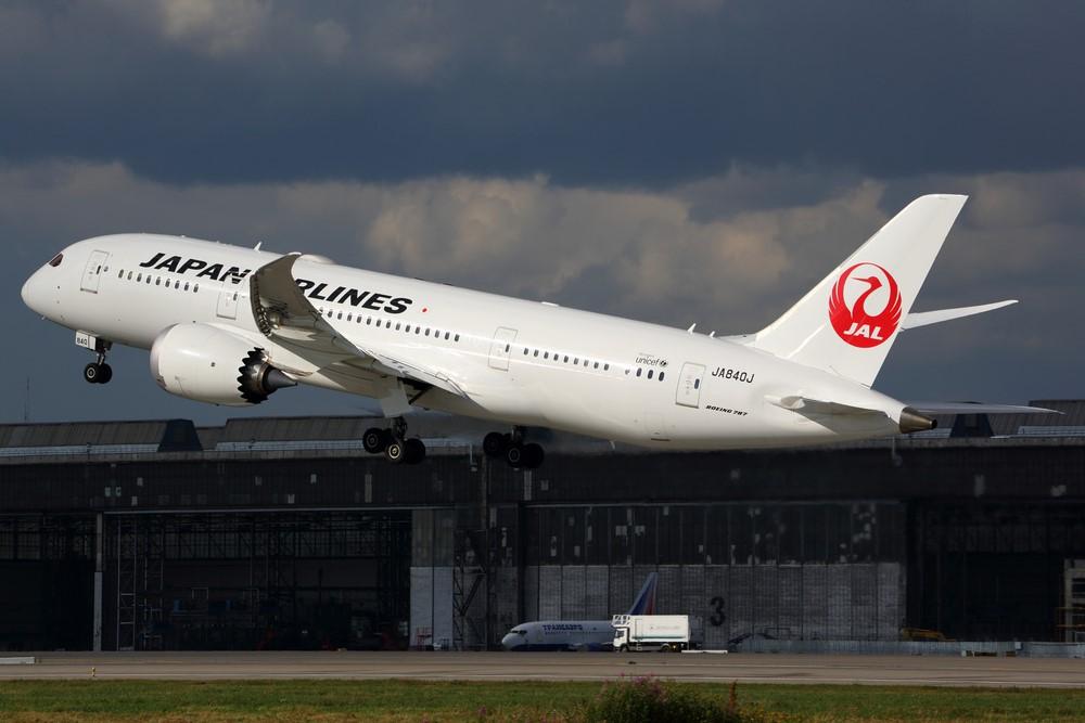 일본항공 B787