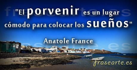 Frases para la vida de Anatole France