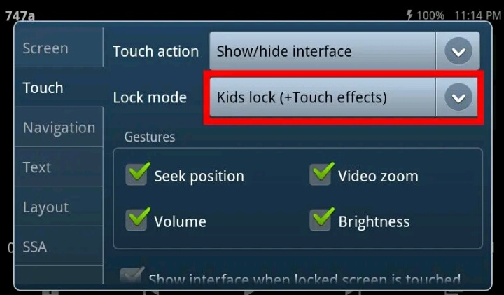 kids lock plugin Apk for Android