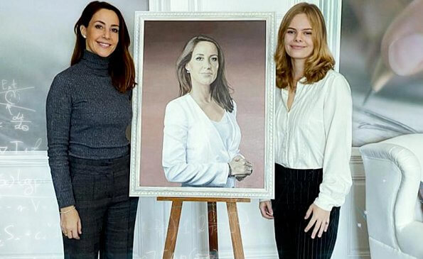 Princess Marie is patron of the Danish Autism Association.  Nina Skov Jensen is an autistic individual