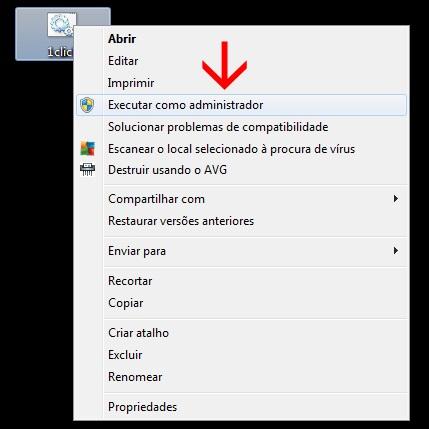ativar windows 7 administrador