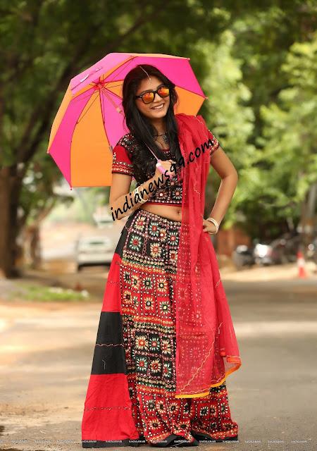 Harisha Kola in Traditional Designer Navratri Chaniya Choli