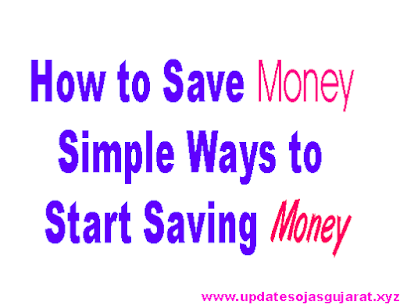 How to Save Money - Simple Ways to Start Saving Money