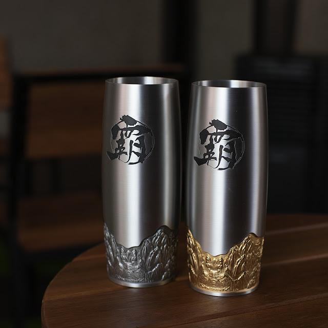 BAWANGCHAJI'S PREMIUM TEA IN ROYAL SELANGOR DRINKWARE