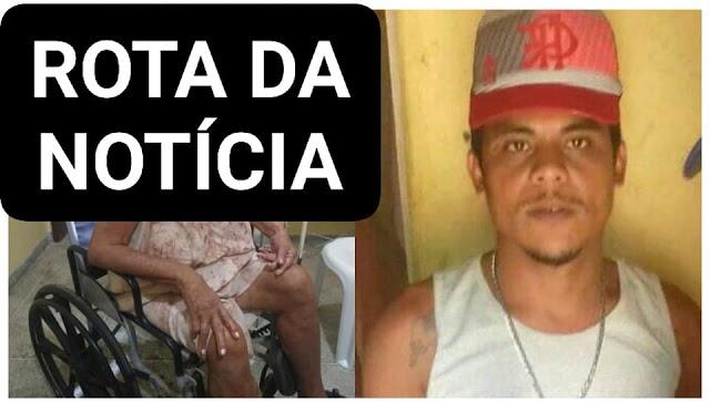 Homem foi preso no município de Dona Inês, no Curimataú paraibano, acusado de invadir a casa de uma idosa