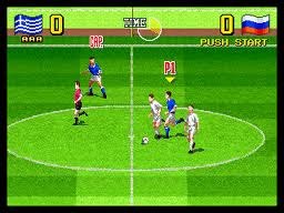 Ultimate 11 Screenshot NEO GEO Rare