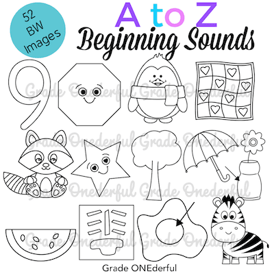 A to Z Clip Art Images