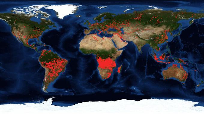 El cambio climático, la mayor amenaza para los monumentos naturales del planeta