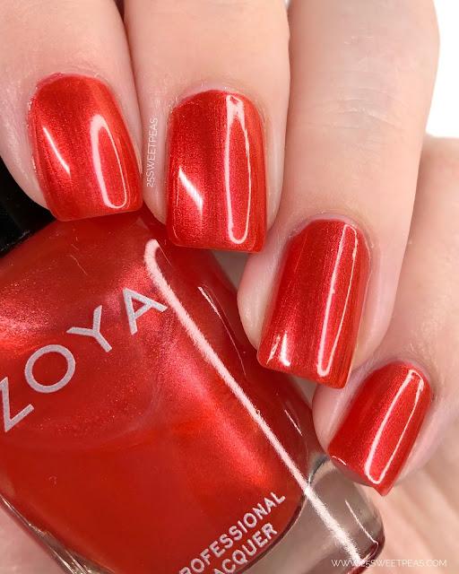 Zoya Marcy Swatch 25 Sweetpeas