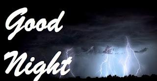 good night images with rainy season