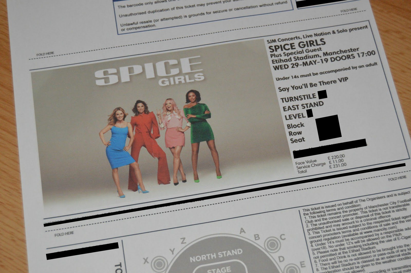 The Spice Girls Tickets