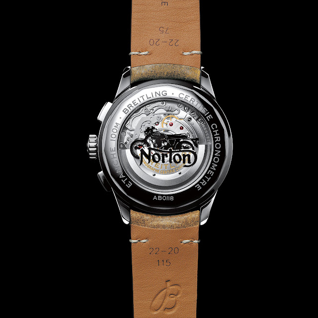 Breitling Date Premier B01 Chronograph Norton Edition Automatic Watch