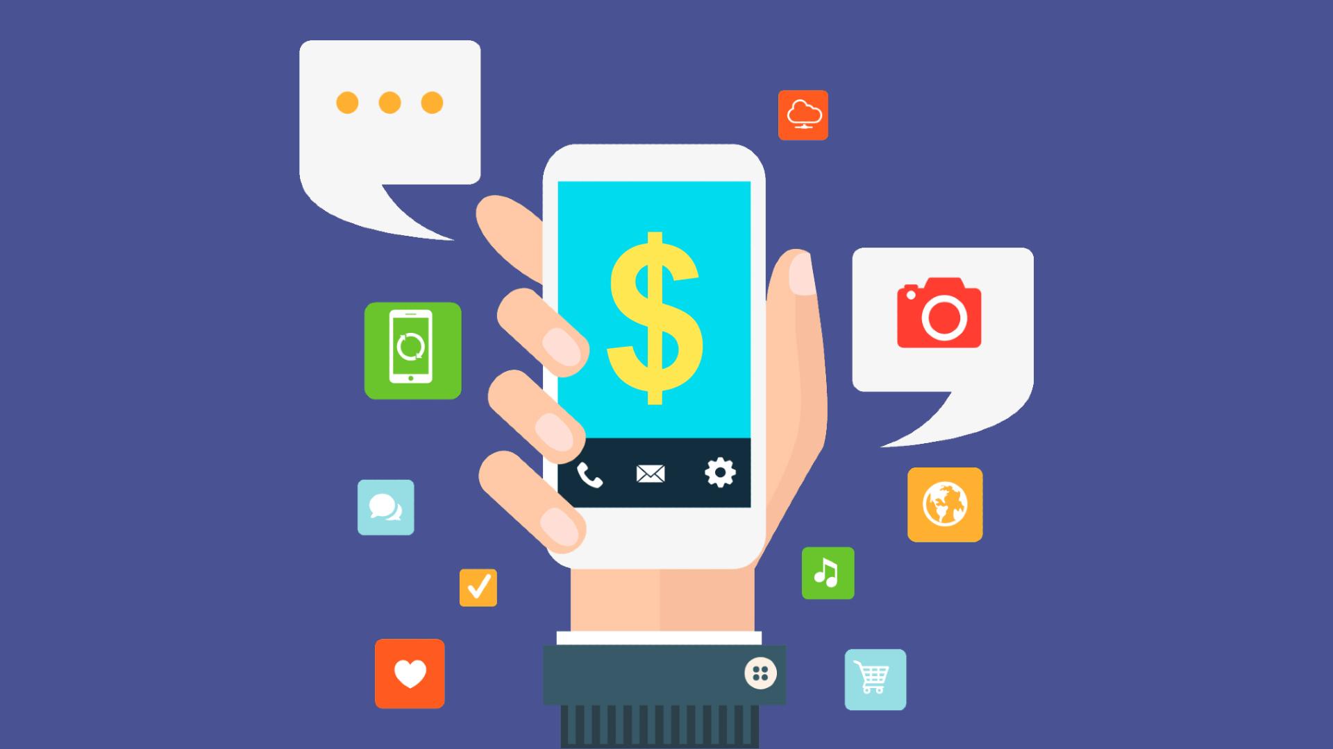 celular com app de ganhar dinheiro