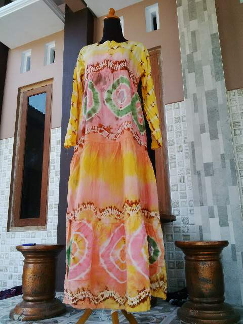 Model Baju Daster Sasirangan