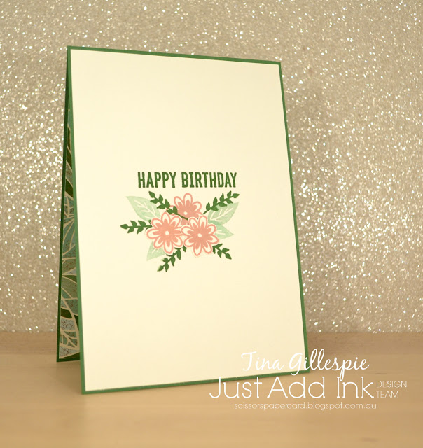 scissorspapercard, Stampin' Up!, Just Add Ink, Sweetly Swirled, Itty Bitty Birthdays, Mosaic Mood SDSP