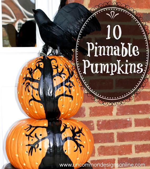 10 Pinnable Pumpkins