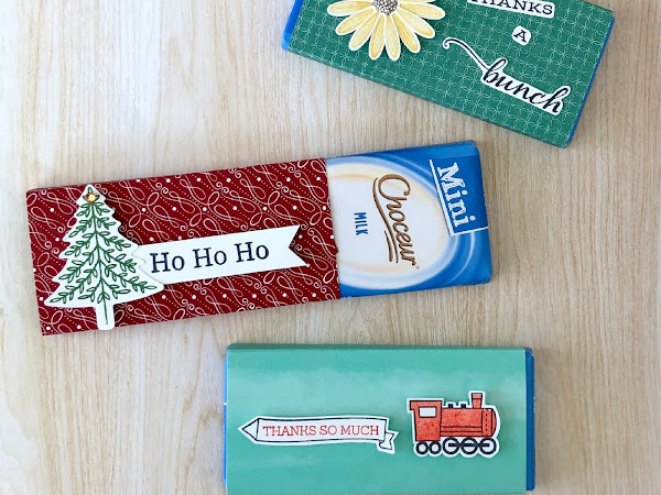 Chocolate Treat Wrappers for Christmas, children's parties, and thank you gifts