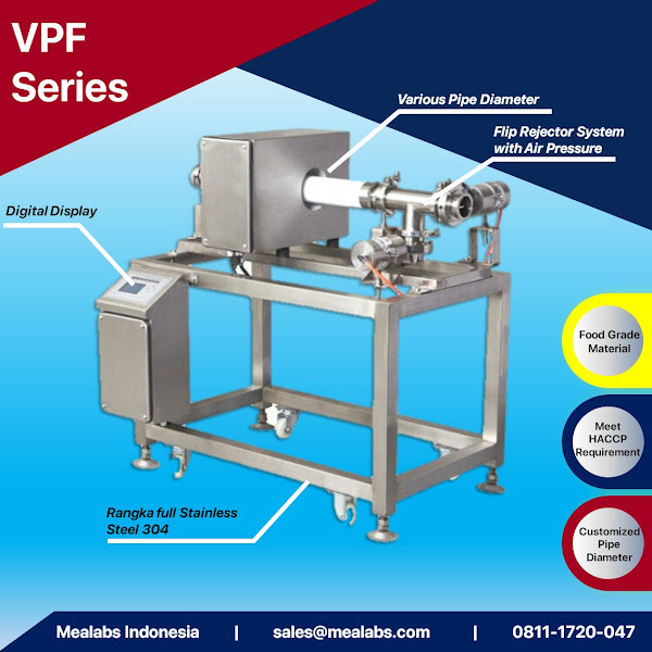 VPF Series Pipeline Metal Detector