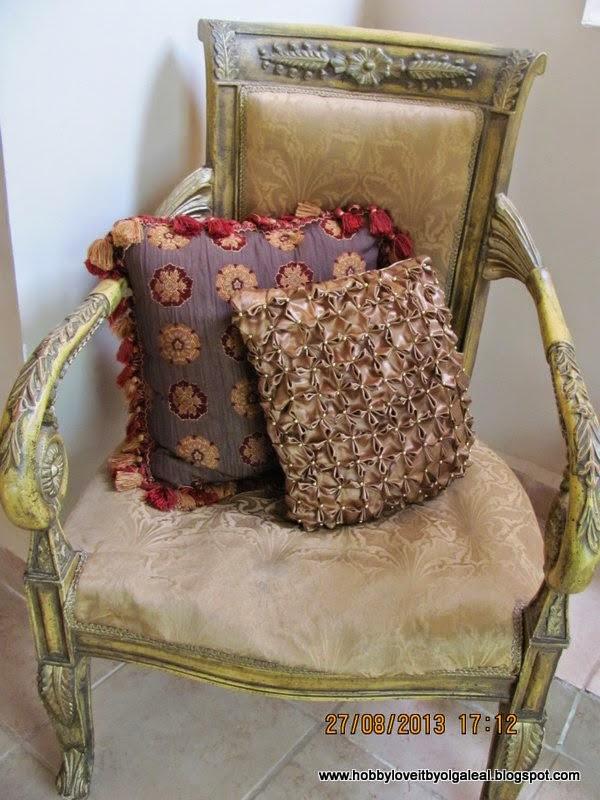 Hobby love it by olga leal como tapizar una silla - Tapizar una silla ...