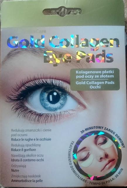 2139. GlySkinCare Gold Collagen Eye Pads kolagenowe płatki pod oczy ze złotem