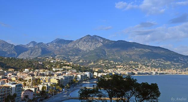 Menton Coasta de Azur Franta
