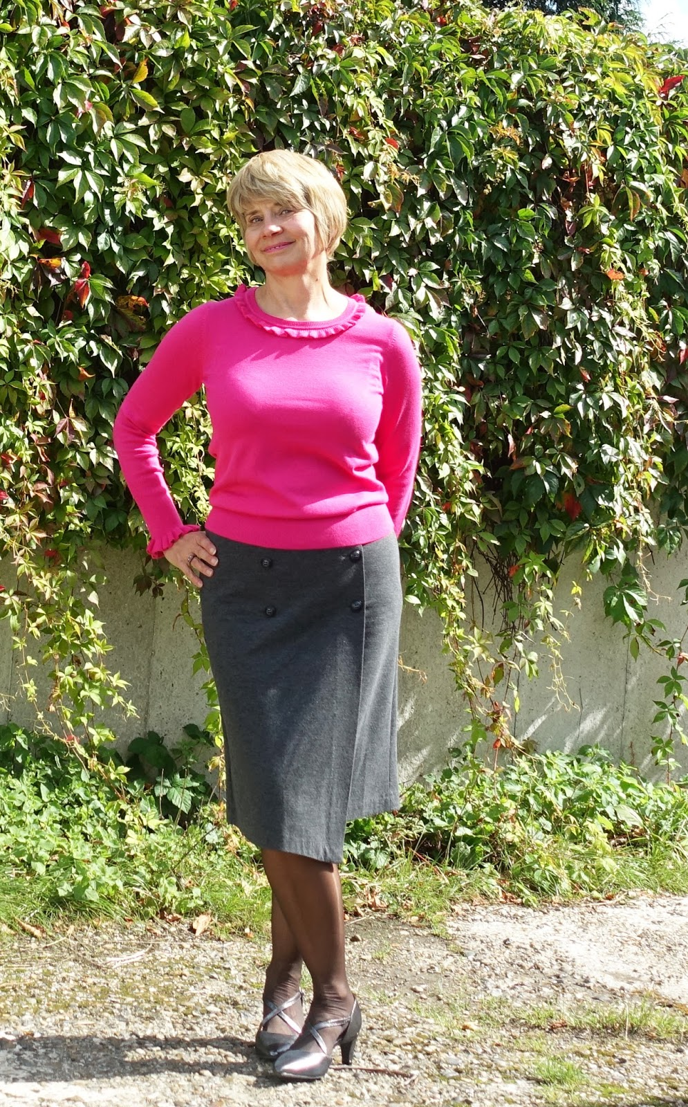 Gail Hanlon from Is This Mutton fashion blog for the over 40s