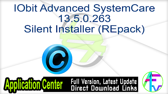 IObit Advanced SystemCare 13.5.0.263 Silent Installer (REpack)