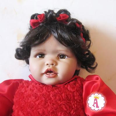 Лицо куклы Scarlette