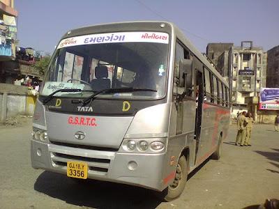 surat ahmedabad bus