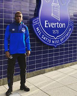 Sport: Super Eagles striker, Henry Onyekuru returns to Everton