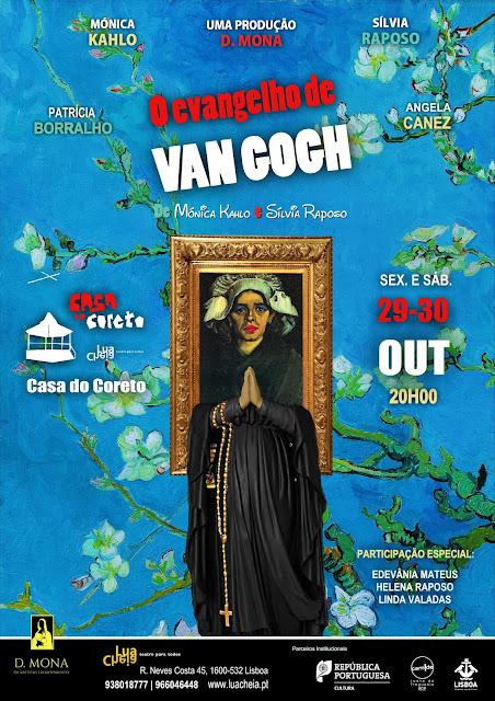 O Evangelho de Van Gogh encerra tournée em LISBOA!