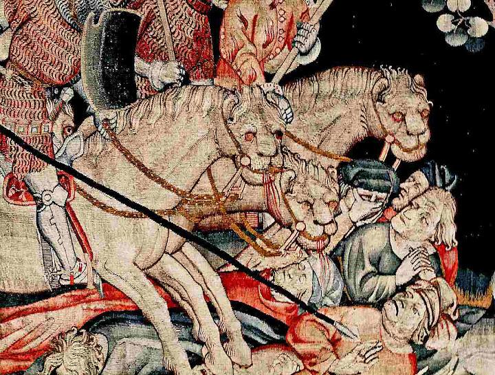Será a pior perseguição da Historia. Tapeçaria do Apocalipse, Angers