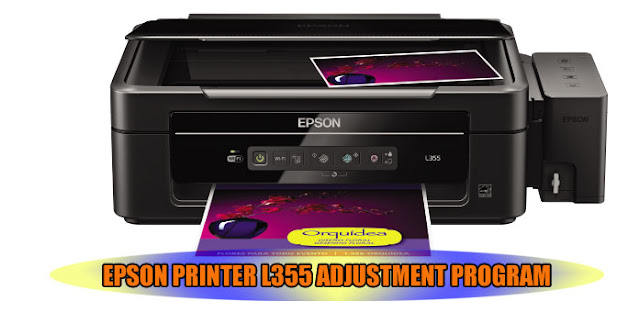 EPSON L355 PRINTER ADJUSTMENT PROGRAM