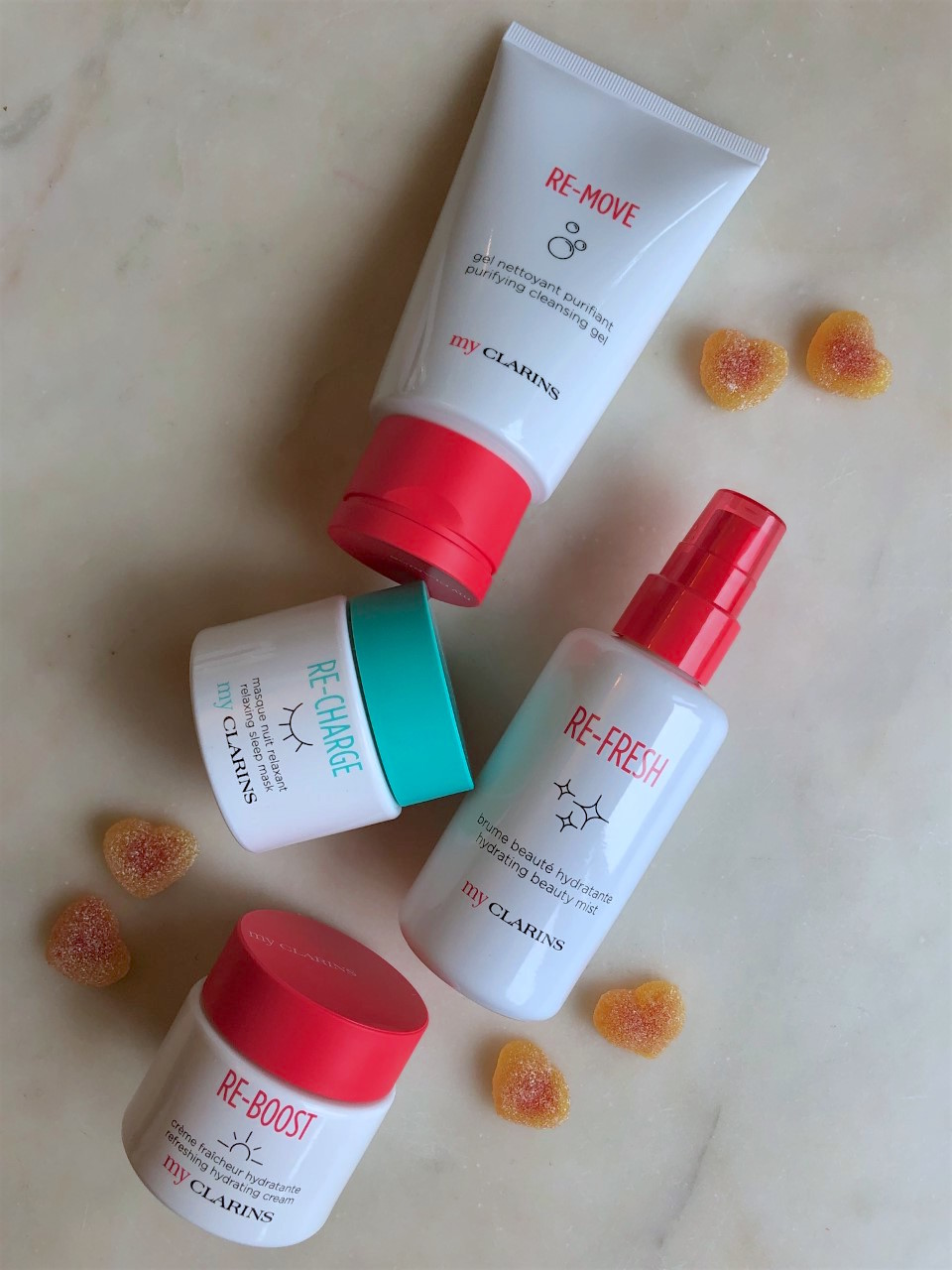 My Clarins Skincare line: A quick review