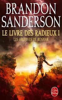couverture du livre Le livre des Radieux 1 de Sanderson