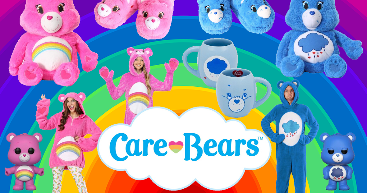 Cheer Up With New Care Bears Costumes And Collectibles
