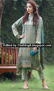 luxury Silk Eid Festive Collection 2015 by Saadia