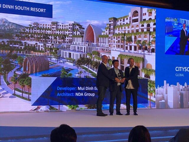 Dự án của Tập đoàn Crystal Bay và đối tác được vinh danh tại Dubai